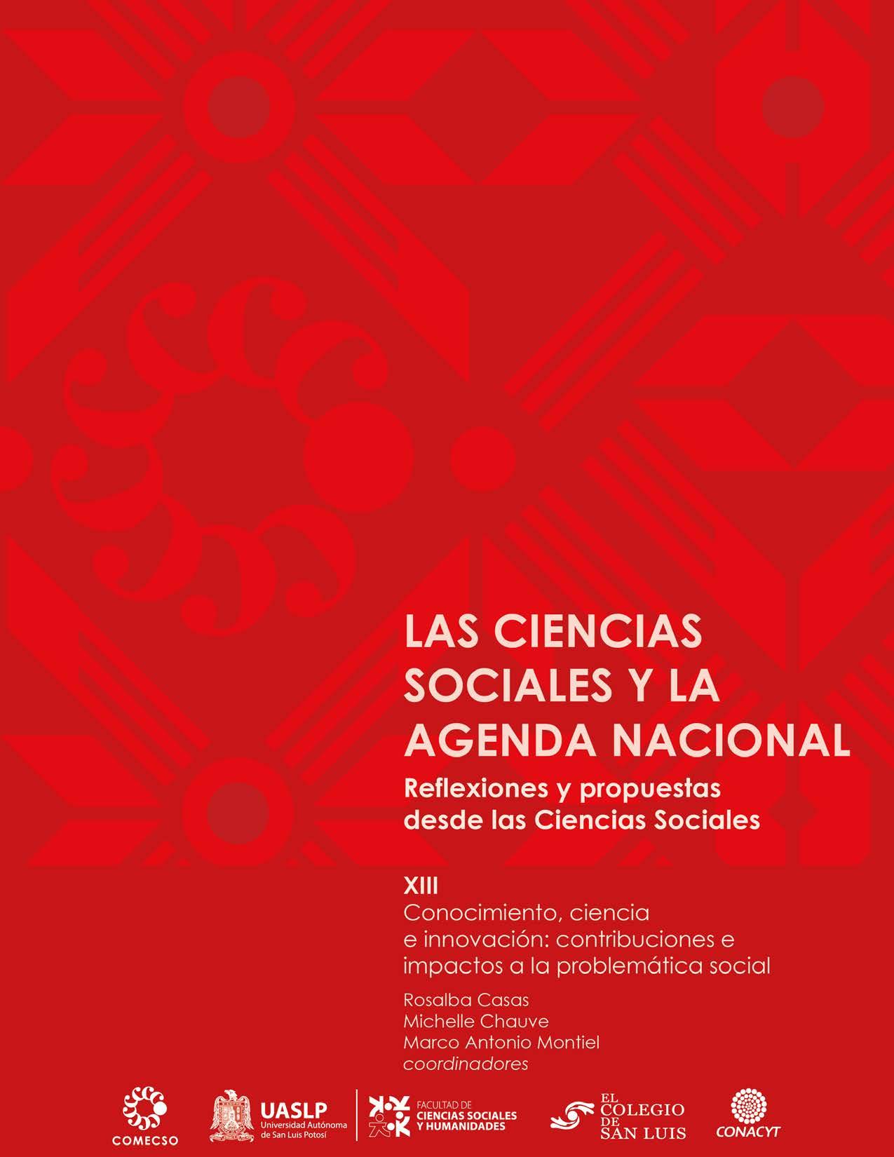Vol. XIII. Conocimiento, ciencia e innovación: contribuciones e impactos a la problemática social