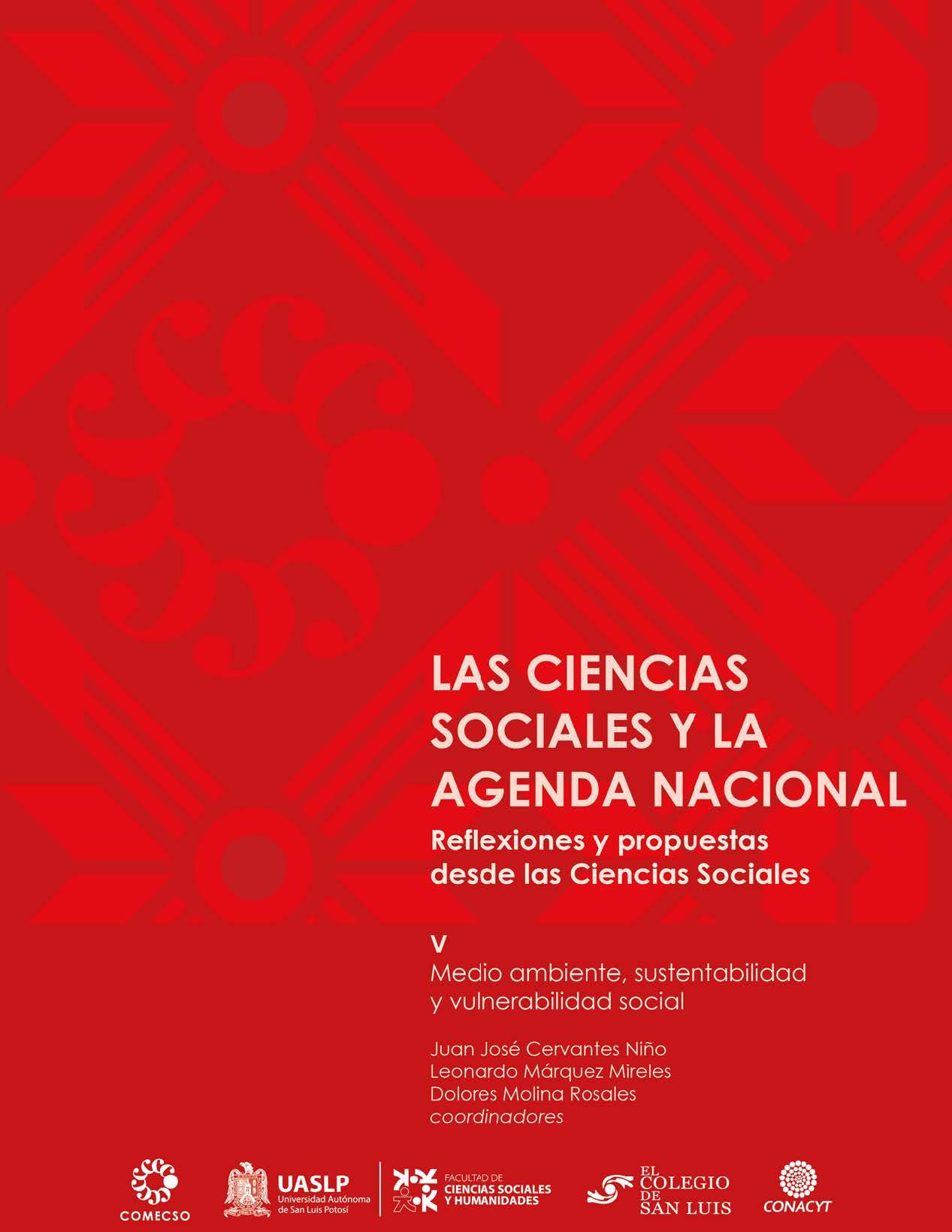 Vol. V. Medio ambiente, sustentabilidad y vulnerabilidad social