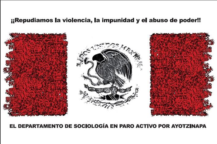 Paro Activo por la desaparición de los 43 normalistas de Ayotzinapa