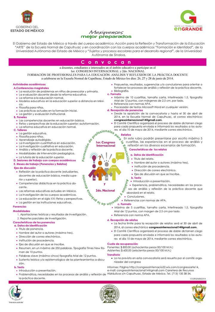 nacional formacin de para la educacin anlisis y reflexin de la prctica docente u uas