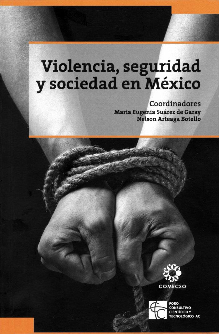 Violencia, seguridad y sociedad en México. Coordinado por Nelson Arteaga Botello y María Eugenia Suárez de Garay