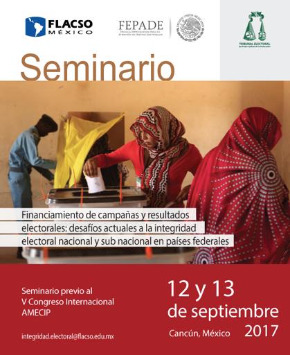 Seminario internacional sobre integridad electoral