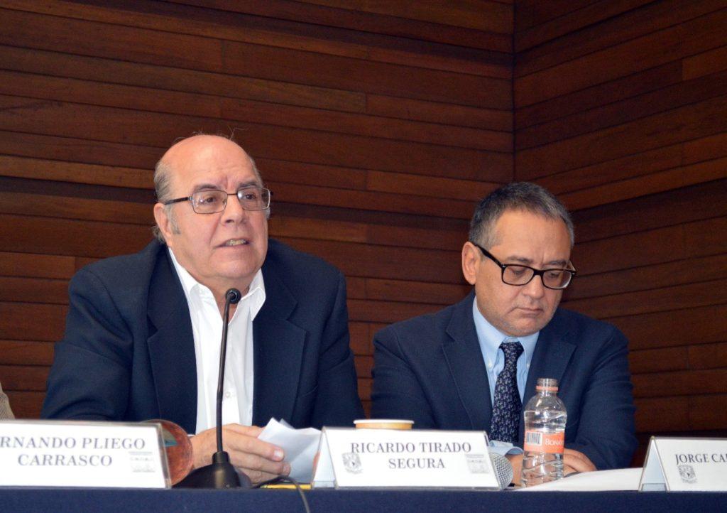 Foto: (De izquierda a derecha) Dr. Ricardo Tirado Segura y Dr. Jorge Cadena Roa