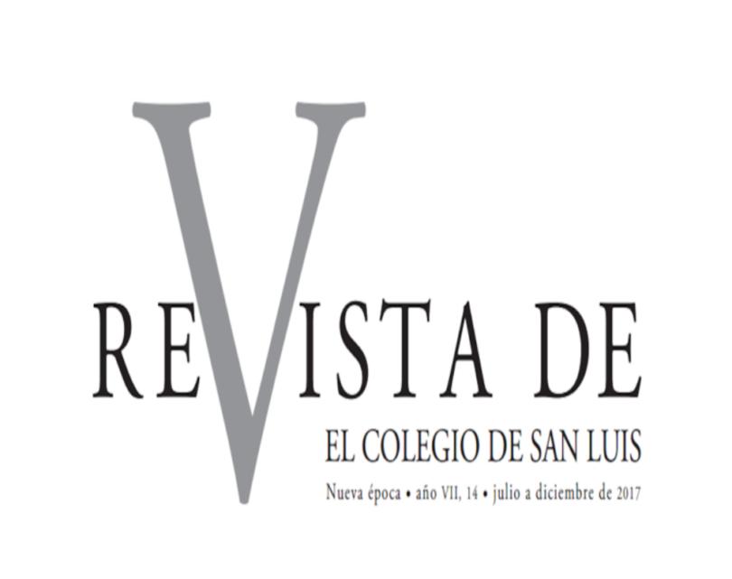 Revista de El Colegio de San Luis No. 14