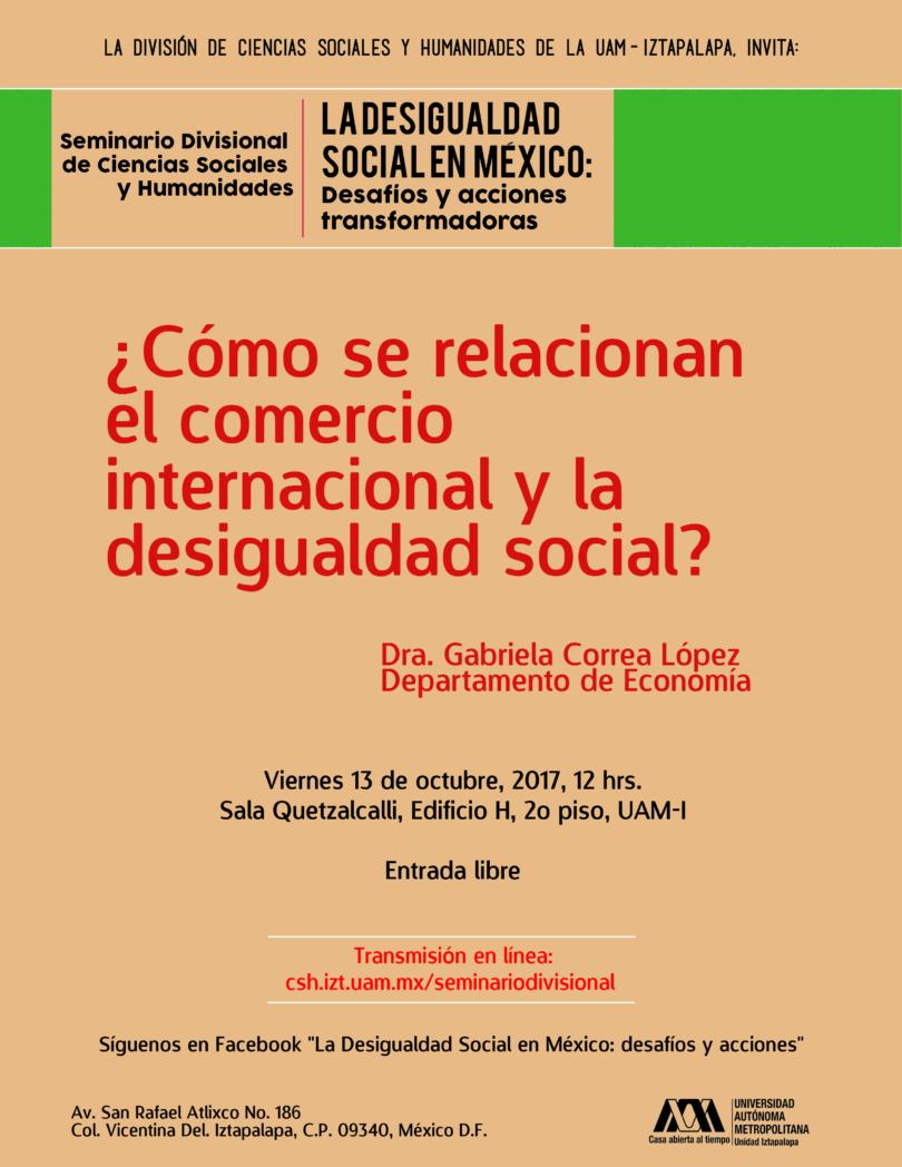 Seminario: La desigualdad social en México