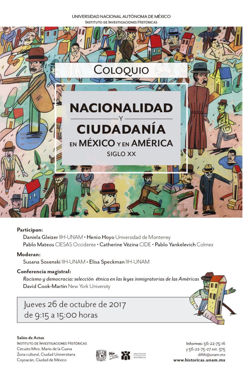 Coloquio Nacionalidad y Ciudadanía