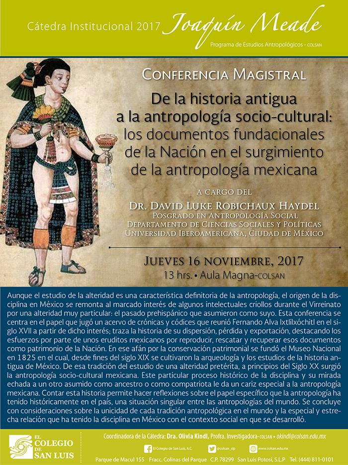 De la historia antigua a la antropología