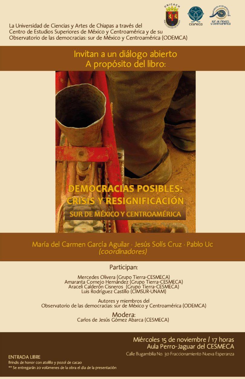 Diálogo abierto: Democracias Posibles