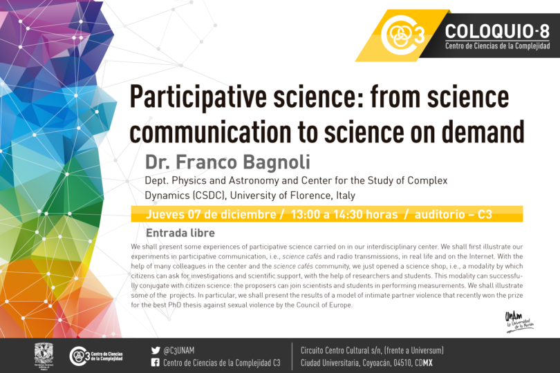 Coloquio Participative science