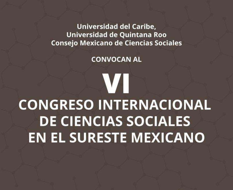 Congreso de Ciencias Sociales en el Sureste Mexicano