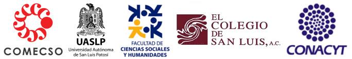 VI Congreso Nacional de Ciencias Sociales, COMECSO, FCSH-UASLP. COLSAN, CONACYT