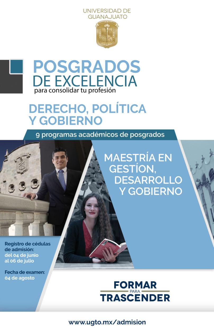 Maestría en Gestión, Desarrollo y Gobierno