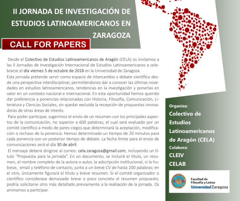 II Jornada de Estudios Latinoamericanos