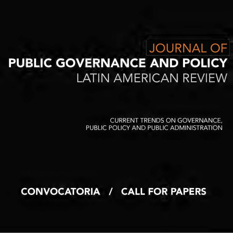 CfP Journal of Public Governance and Policy
