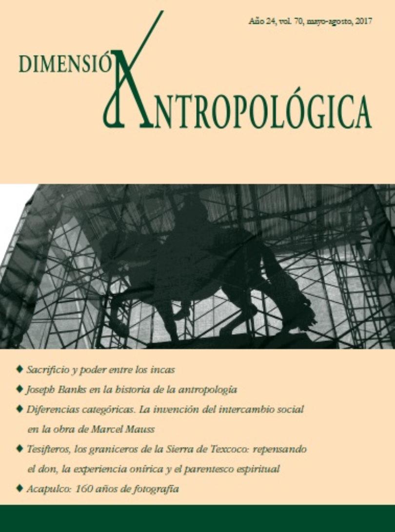 Dimensión Antropológica, vol. 70