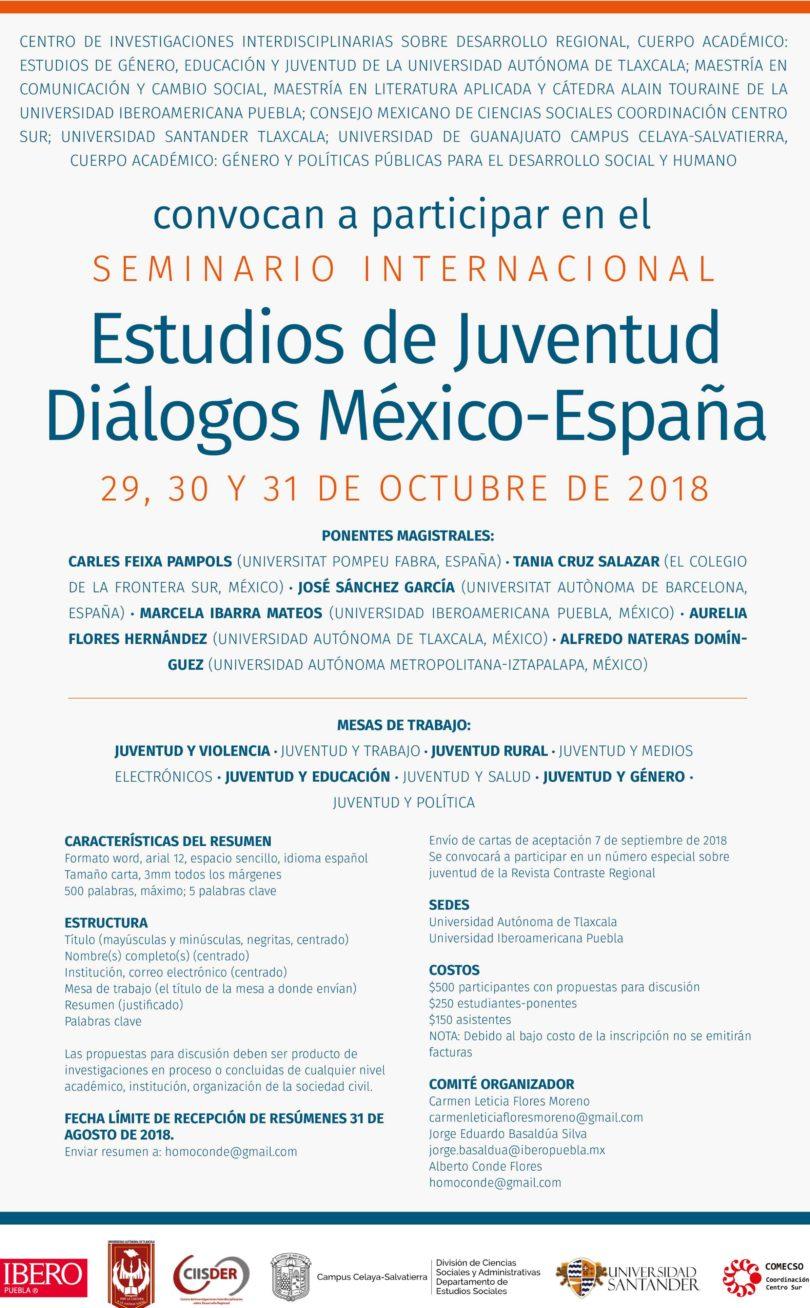 Estudios de Juventud Diálogos México- España