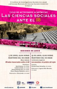 Las Ciencias Sociales ante el 68 | sesiones junio