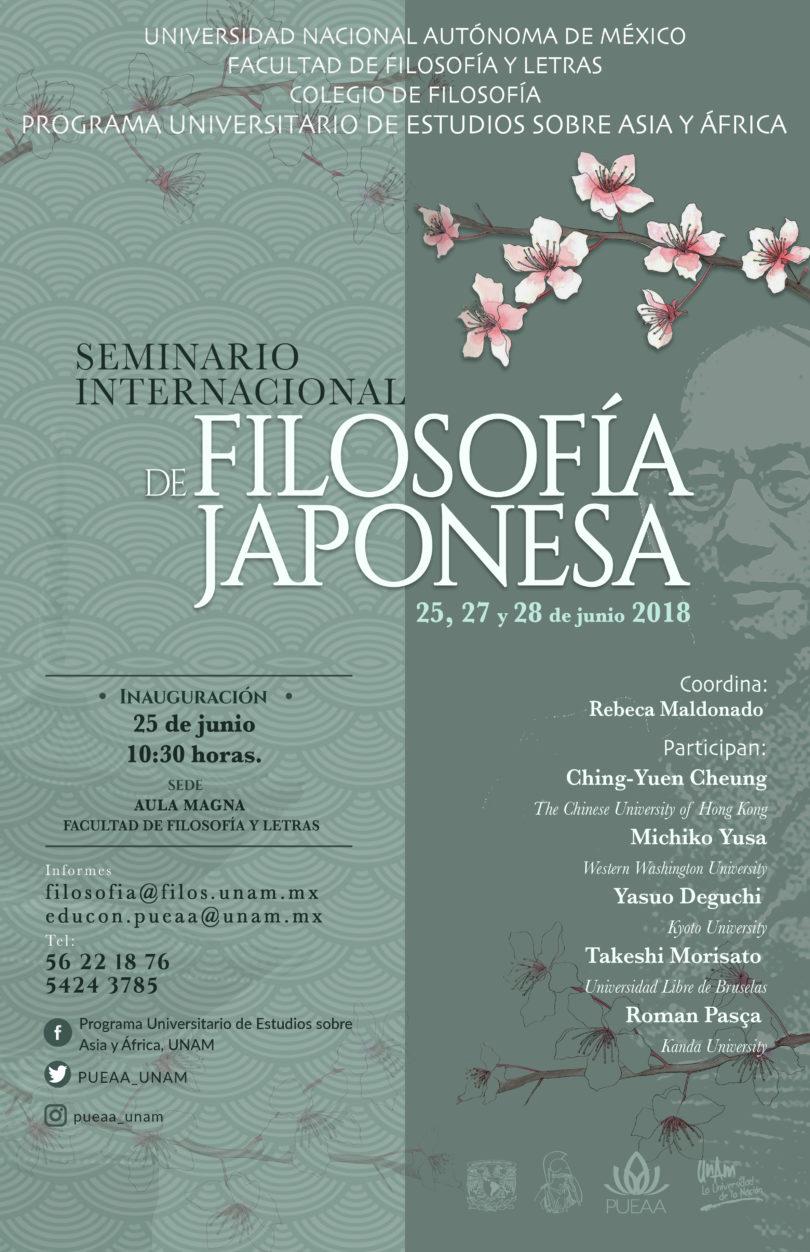 Seminario Internacional de Filosofía Japonesa