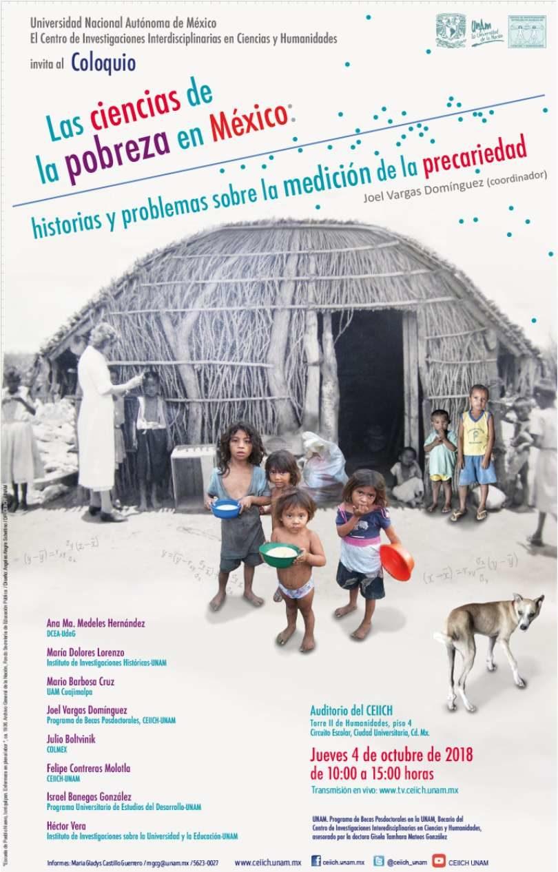 Coloquio. Las Ciencias de la pobreza en México