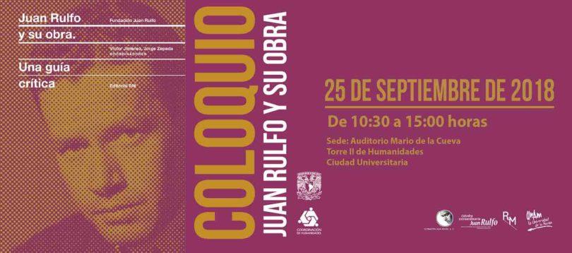 Coloquio Juan Rulfo y su obra