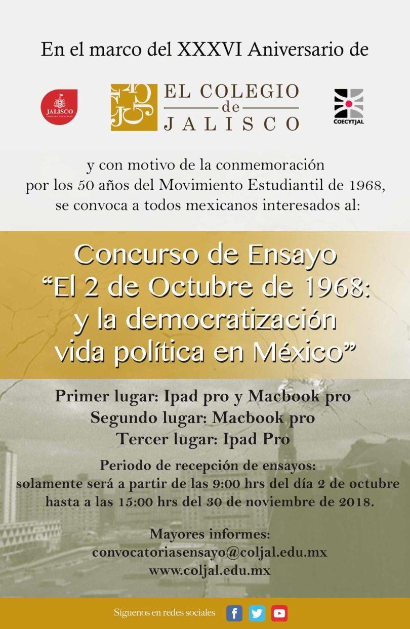 2 de octubre y la democratización de la vida política de México