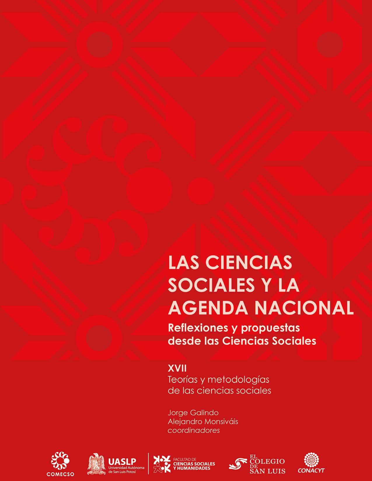 Vol. XVII. Teorías y metodologías de las ciencias sociales