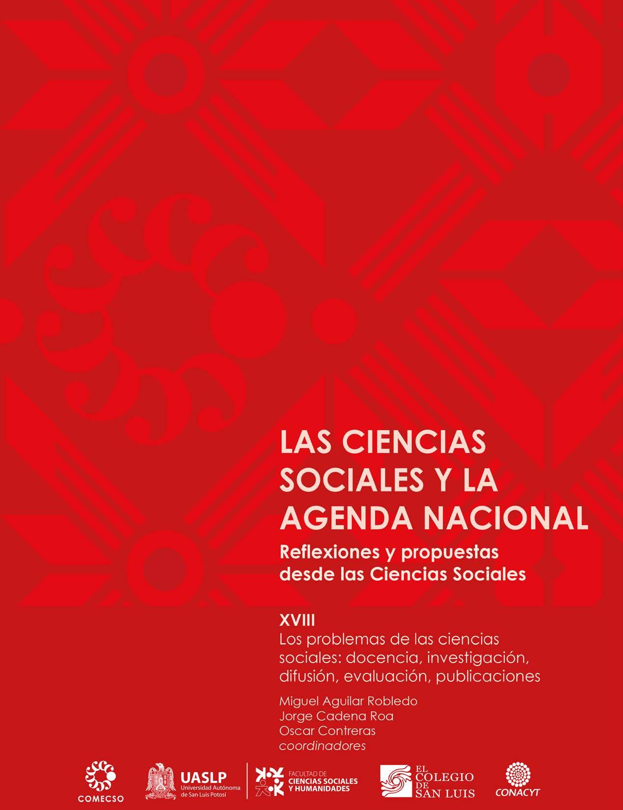 Vol. XVIII. Los problemas de las ciencias sociales: