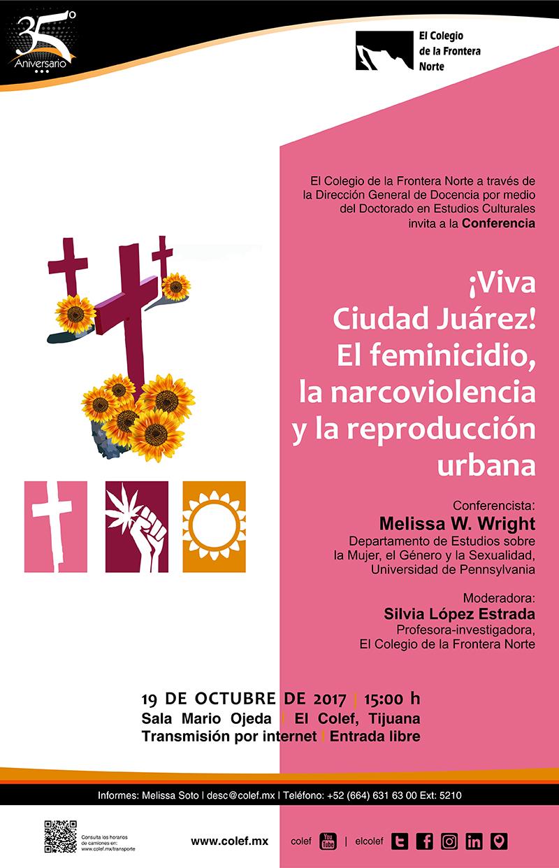 Conferencia ¡Viva Ciudad Juárez!