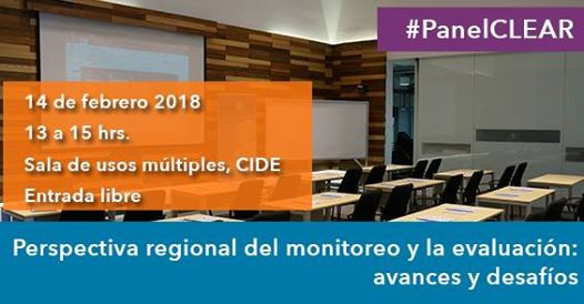 Cartel Perspectiva regional del monitoreo y la evaluación: avances y desafíos