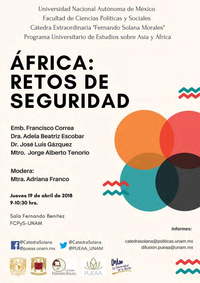 África: Retos de seguridad