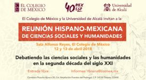 Reunión hispano-mexicana de Ciencias Sociales y Humanidades