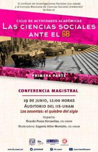 Conferencia magistral. Los sesentas el quiebre del siglo
