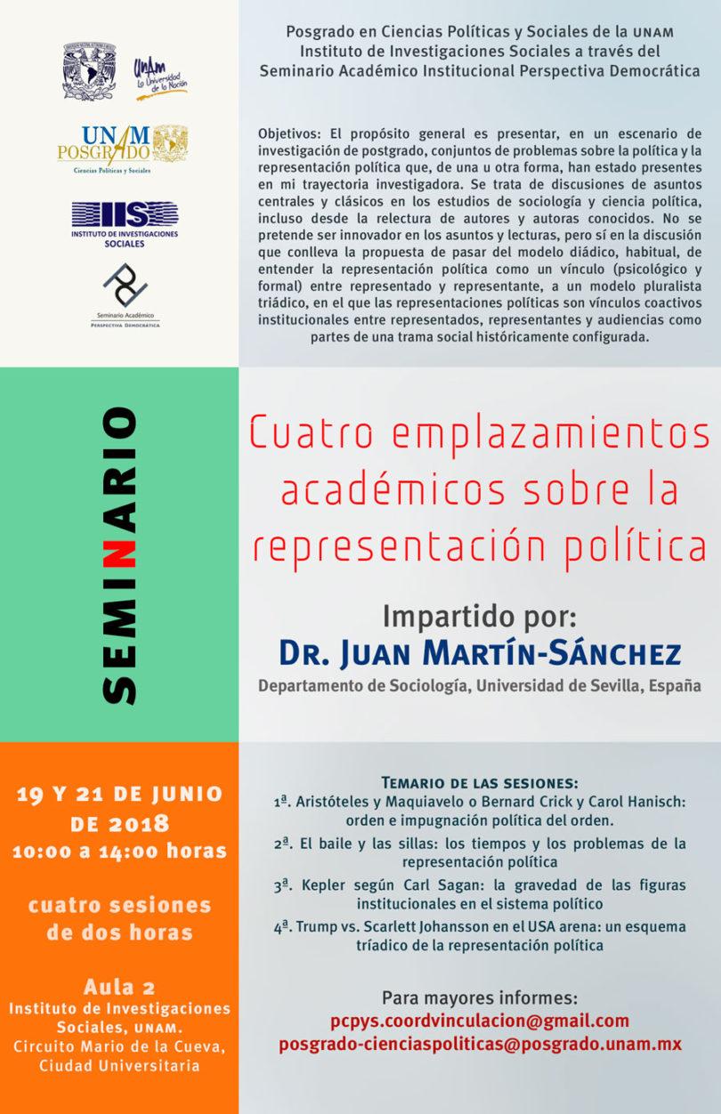 Seminario sobre la representación política