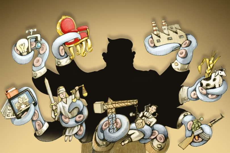 La corrupción se extiende en forma similar al cáncer