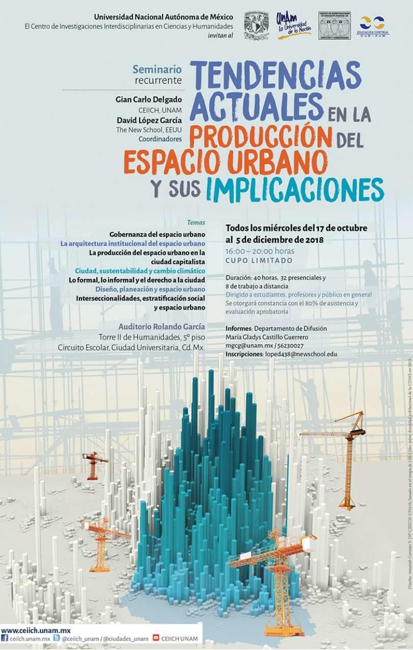 Tendencias actuales en la producción del espacio urbano