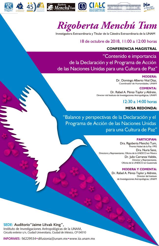 Cartel Rigoberta Menchú