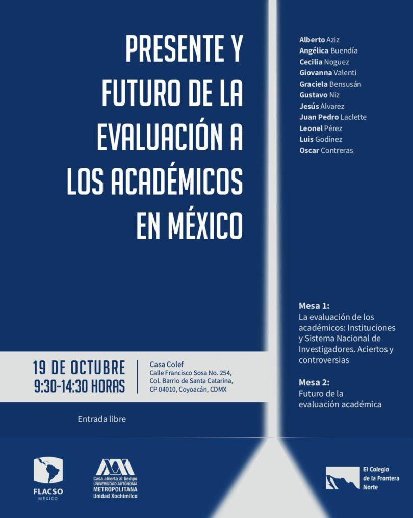 Presente y futuro de la evaluación a los académicos en México