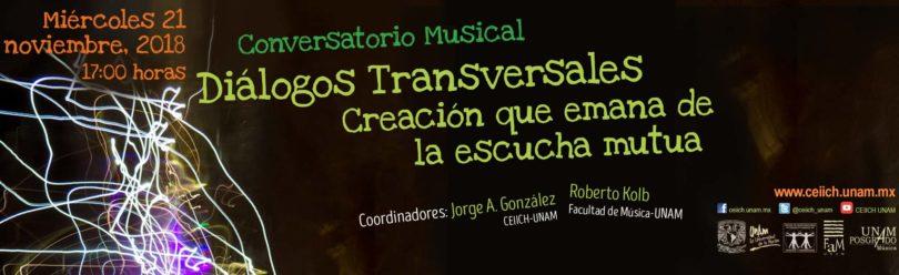 Conversatorio Musical Diálogos Transversales