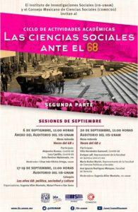 Las Ciencias Sociales ante el 68 | septiembre