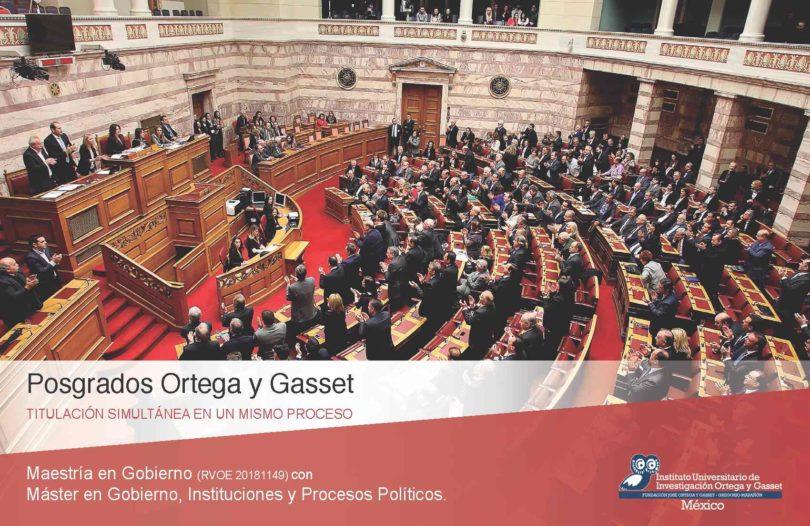 Maestría en Gobierno | Ortega y Gasset Mx