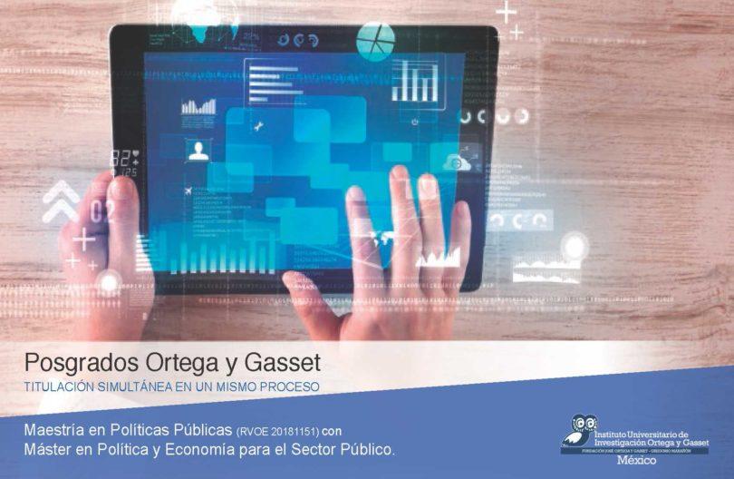 Maestría en Políticas Públicas | Ortega y Gasset Mx