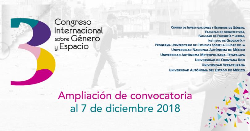 Tercer Congreso sobre Género y Espacio