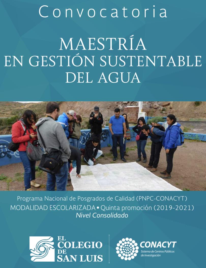 Maestría en Gestión Sustentable del Agua