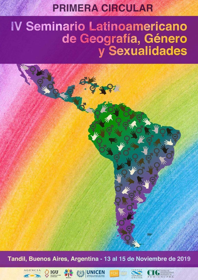 IV Seminario de Geografía, Género y Sexualidades