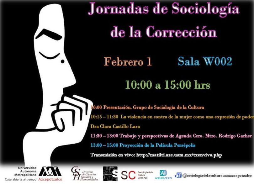 Jornadas Sociología de la Corrección