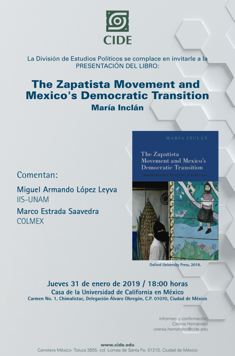 Presentación del libro The Zapatista Movement