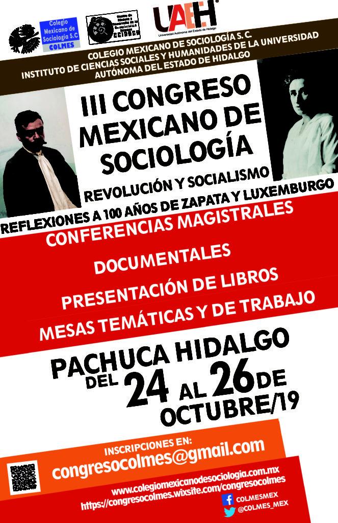 III Congreso Mexicano de Sociología