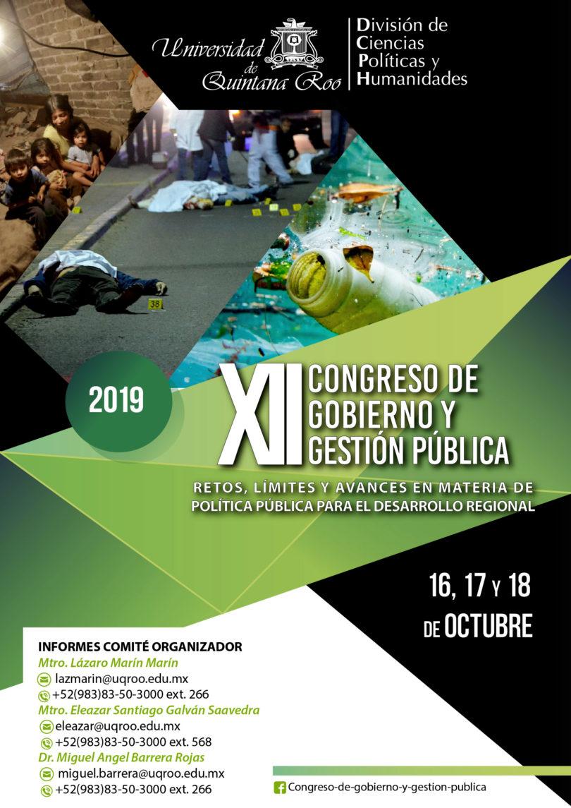 XII Congreso de Gobierno y Gestión Pública