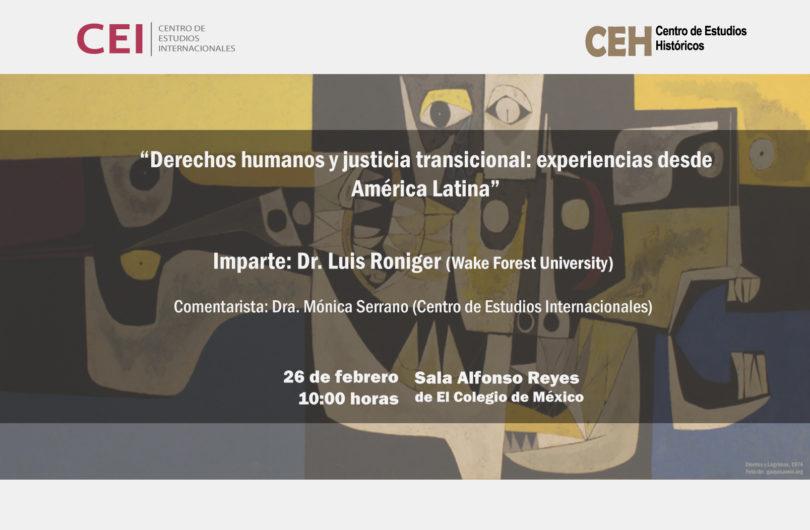 Derechos humanos y justicia transicional
