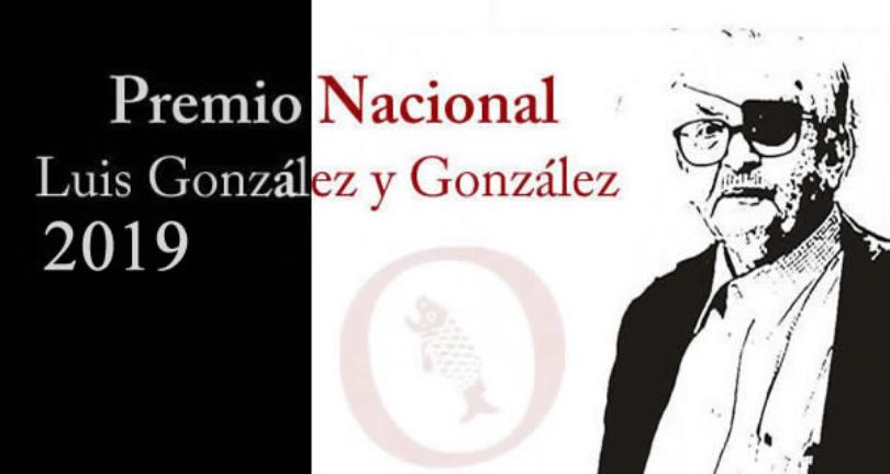 Premio Nacional Luis González 2019